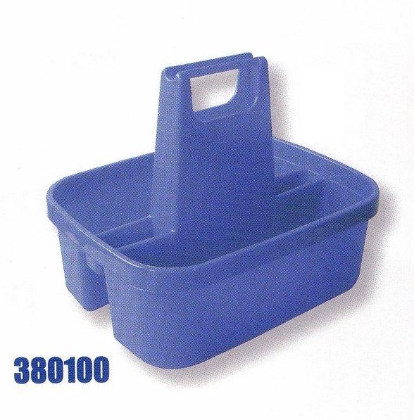 Portable plastic toolbox