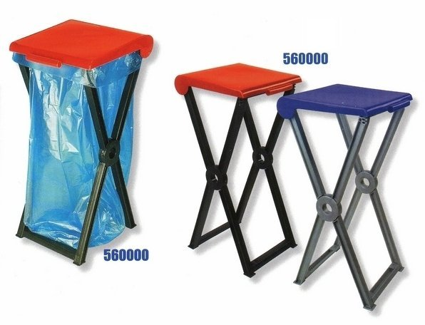 Foldable plastic stand RIVAL 560,000 for garbage bags 2