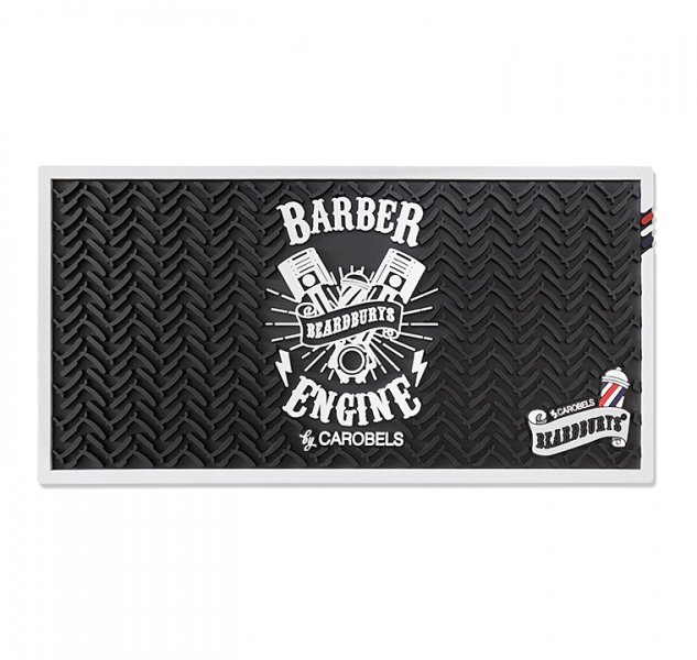 Rubber working pad for Barber Beardburys