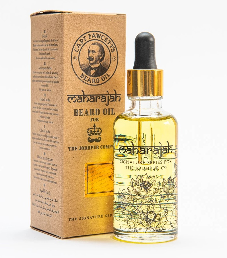 cpt-fawcett-maharajah-beard-oil-10-ml 2