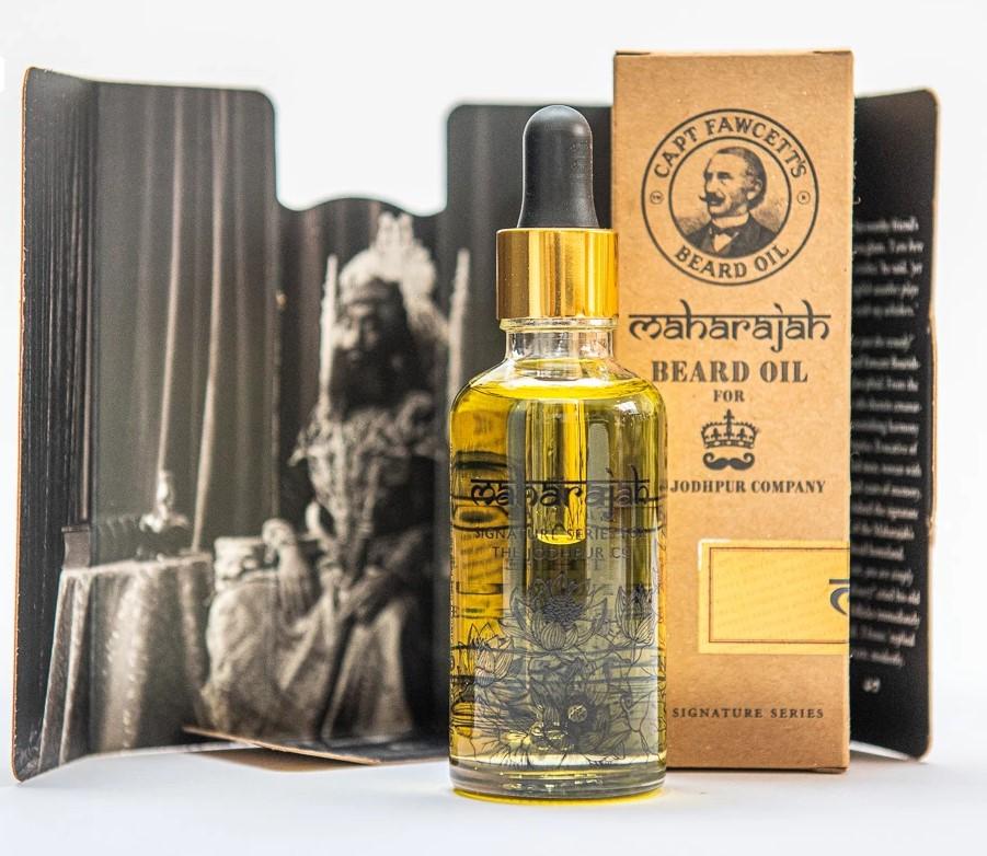 Cpt. Fawcett Maharajah Beard oil (10 ml) 2